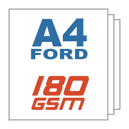 Giấy ford A4 180gsm