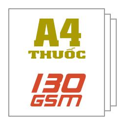 Giấy thuốc A4 130gsm