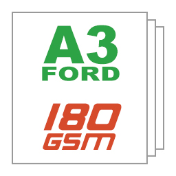 Giấy ford A3 180gsm