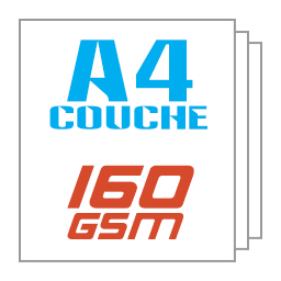 Giấy kit couche A4 160gsm