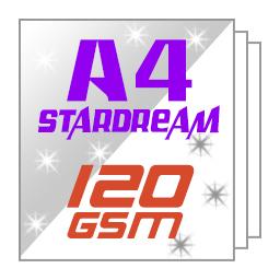 Giấy nhũ ánh kim Stardream 120gsm