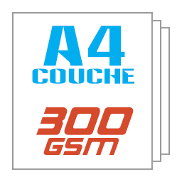 Giấy kit couche A4 300gsm