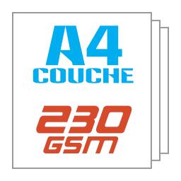 Giấy kit couche A4 230gsm