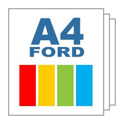 Giấy ford A4 màu